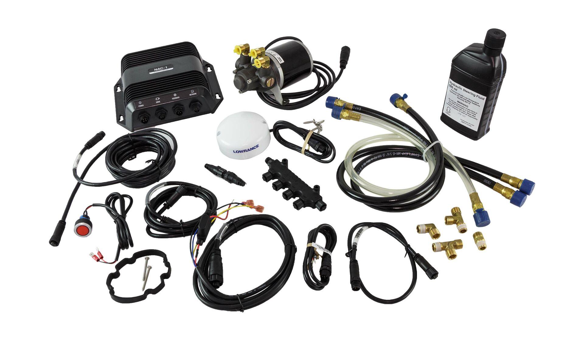 Autopilot hydraulic Lowrance