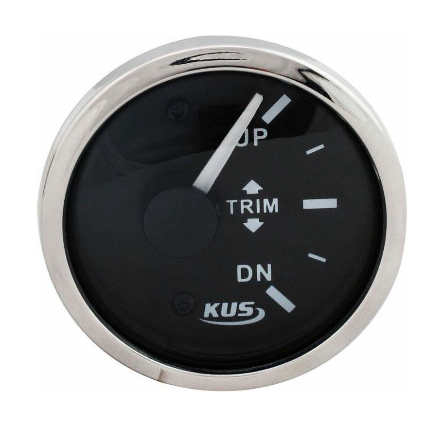 Mercury Ø 52mm Anzeige Gauge Hours Power Trim Volt Fuel Temperatur