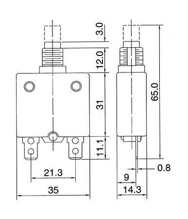 Automatic fuse 25 a, price, AESZE70025AC1,  art-00117760( 2) | F25