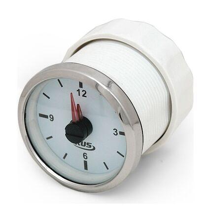 Analog Clock, White/Chrome, price, JMV00263_KY09100,  art-00072851( 2)   F25