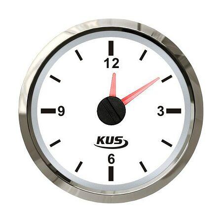 Analog Clock, White/Chrome, buy, JMV00263_KY09100,  art-00072851( 1)   F25