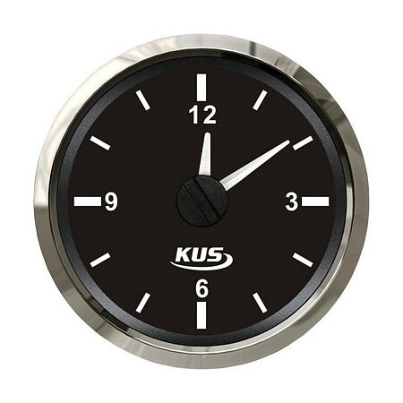 Analog Clock, Black/Chrome, buy, JMV00262_KY09000,  art-00072850( 1)   F25