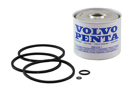 Fuel filter for Volvo Penta  (separator; diesel), buy, 3581078,  art-00017071( 1) | F25
