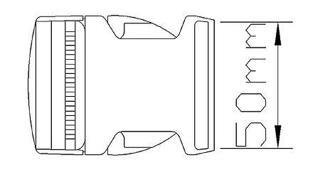 Quick Release Buckle 5 cm, Description, SSCL00027103,  art-00062029( 3) | F25