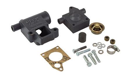 Thermostat housing GM L4, L6 Kit, OSCO, price, CY55M,  art-00066477( 1)   F25
