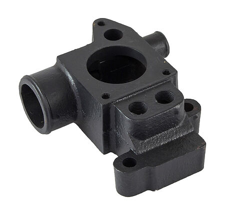 Thermostat housing GM L4, L6 lower part, OSCO, price, F55BY,  art-00066484( 1) | F25
