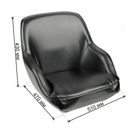ADMIRAL Bucket Seat, Black, Description, 1061420990,  art-00017487( 4)   F25