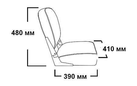 ECONOMY Folding Seat, price, 1040627,  art-00090694( 2) | F25