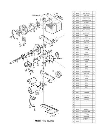 Anchor Winch 900MIGHTY, video, 900M,  art-00026790( 14) | F25