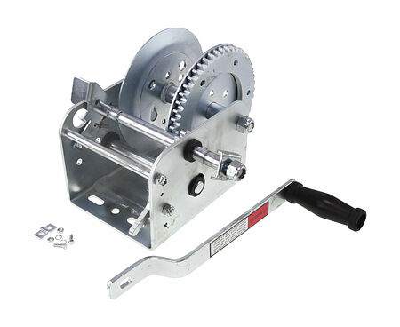 Manual Trailer Winch 2500 lbs (1100 kg), buy, WT7325Z,  art-00018211( 1) | F25