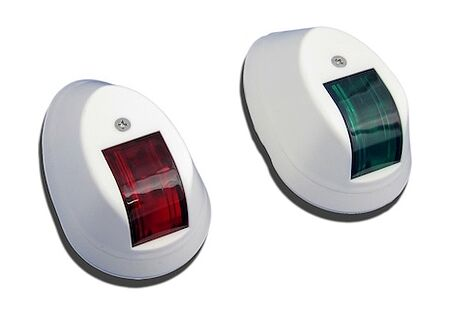Navigation Side Lights, White Housing, price, C910041,  art-29523( 1) | F25