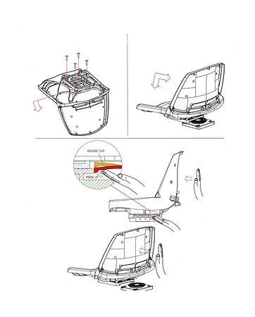 Removable Swiveling Seat Base 'Titan', Photo, MA7652,  art-00116214( 5) | F25