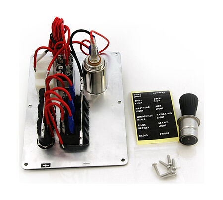 Switch Panel, 3 Switch, 12V, sale, 10500,  art-00004775( 2) | F25