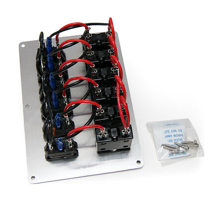Switch Panel, 6 Switches, 12V, Vertical, sale, 10521,  art-00002396( 2) | F25