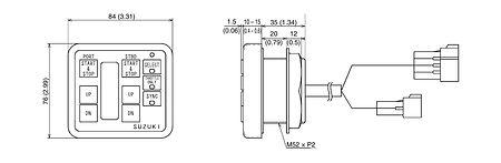 Dual Engine Control Panel for Suzuki, price, 3710098J21000  art-11042666(2)  | F25