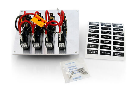 Switch Panel, 4 switches, Vertical, sale, 10544,  art-00017408( 2) | F25