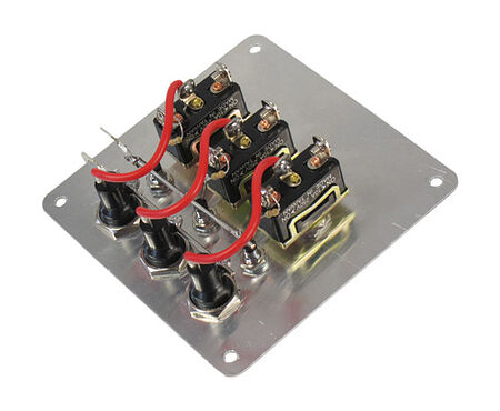 Switch Panel, 3 Switches, 12V, price, 10503,  art-00004778( 2) | F25