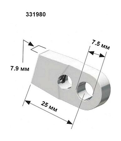 Control cable end, sale, 331980,  art-00141770( 2) | F25