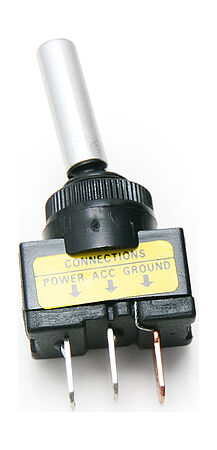 Toggle Switch ON-OFF 16A/12V 3P with backlight, price, 30168,  art-00006396( 1) | F25