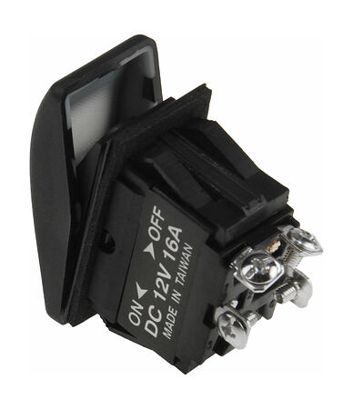 Contura Switch ON-OFF 16A/12V, 4P, LED, price, AES111854,  art-00117575( 2)   F25