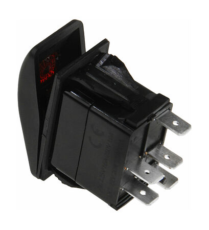 Contura Switch (ON)-OFF 12V/20A, 5 p, LED, price, AES111884PM,  art-00117652( 2)   F25