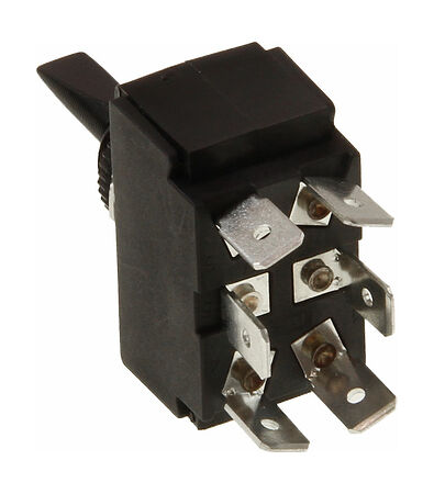 Toggle Switch (ON)-OFF-(ON) 12V/15A, 6 P, Description, 30165perekljuch,  art-00007742( 3) | F25
