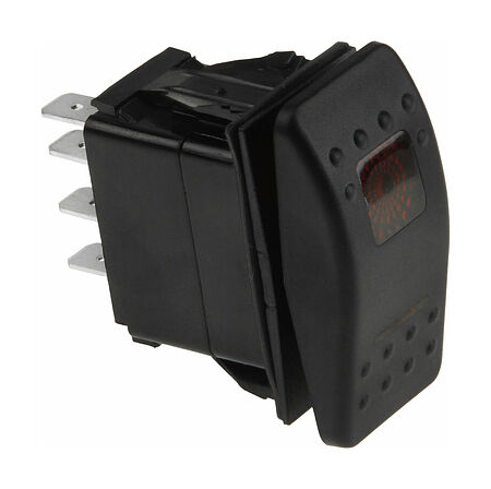 Contura Switch (ON)-OFF-(ON) 12V/20A, 7P, LED, buy, AES111884PBM,  art-00117658( 1) | F25