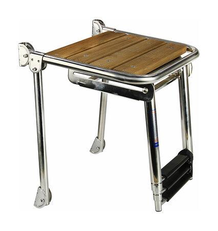 Swim platform 450x390 mm with  3 steps, telescopic ladder, price, 19515,  art-00116096( 2)   F25