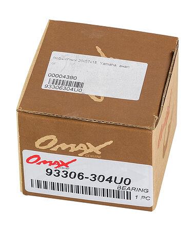 Bearing  20x57x15, Yamaha, Omax, price, 93306304U0_OM,  art-00004390( 2) | F25