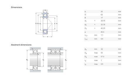 Jet drive nozzle bearing, Description, 502,  art-00095855( 3) | F25