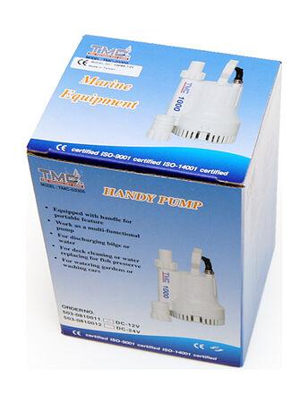 TMC Bilge Pump 1000 GPH, 12V, Description, 1009512,  art-00073502( 4)   F25