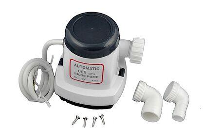 TMC Bilge Pump 600 GPH, 12V, Automatic, Photo, 1004812,  art-00030304( 5) | F25