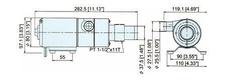 Macerator pump, 12V, 45 LPM, sale, 1006412,  art-00002361( 3) | F25