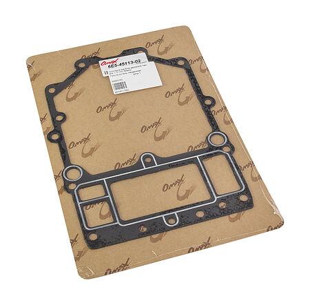 Upper casing gasket Yamaha 115-140, analog, (Block cylinder gasket), price, 6E54511302_OM,  art-00003153( 2) | F25