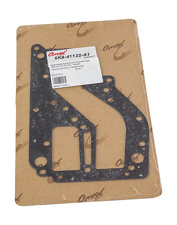 Exhaust inner cover gasket Yamaha 25-30, analog, price, 6K841122A1_,  art-00007821( 2) | F25
