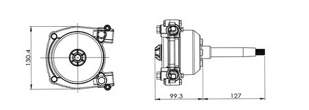 Steering system 3000-serise with cable 14', comparison, 318014,  art-00055610( 6)   F25