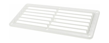 Louvered Vents 260x125x17 mm, White, price, 15205W,  art-00006021( 1) | F25