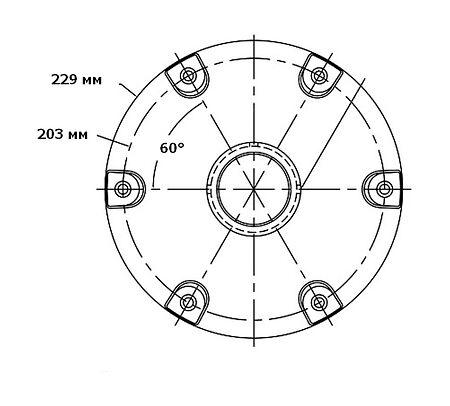 Shock Absorbing Adjustable Height Pedestal, 370-500mm, Description, 1250301WOS,  art-00017496( 3)   F25