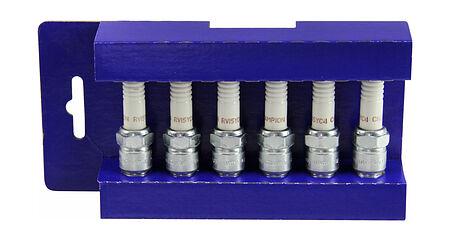 spark plug set (6pcs) short carving 4.3 VP, sale, 3851859,  art-31937( 2) | F25