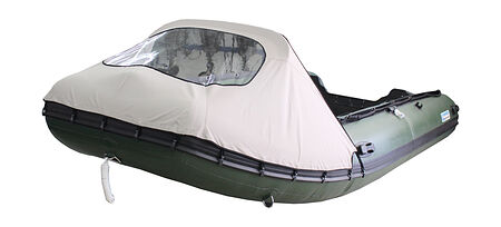 Bison Marine Bimini Pit Tent Canopy For Inflatable Boat