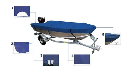 Boat Cover for Boats 5.0-5.3 m, Description, MA20210,  art-00116237( 4)   F25