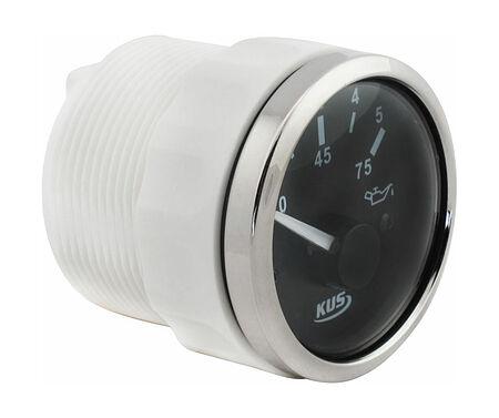 Oil Pressure Gauge, Black/Chrome, price, JMV00308_KY15000,  art-00110478( 2)   F25