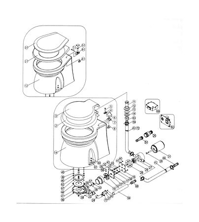 Boat Electric Pump Toilet 12V, comparison, 15493A12 (1544012),  art-00004651( 5) | F25