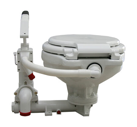 Manual Pump Toilet, Description, 15450,  art-00004653( 2) | F25