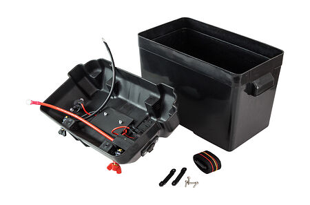 battery box 335x185x225 mm, with the terminals and connect, price, C11537,  art-00055591( 2) | F25