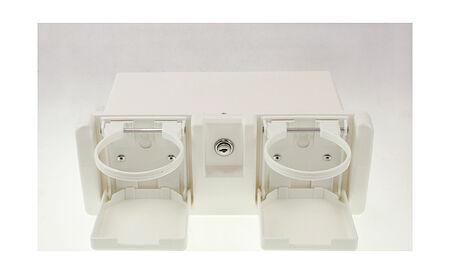 Storage Box with Cup Holder, price, C12201W,  art-00013341( 2) | F25