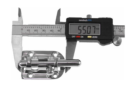 Door  latch 85x38 mm, stainless, price, 06550109,  art-00129667( 2) | F25