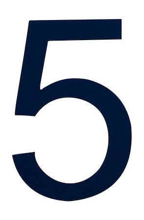 number sign 5, navy blue, price, art00094330,  art-00094330( 1) | F25