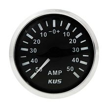 Ammeter, Black/Chrome