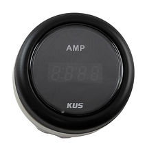 Digital ammeter, Black/Black